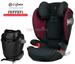 CYBEX SOLUTION S-FIX FERRARI Victory Black 15-36 kg ISOFIX LICENCJA