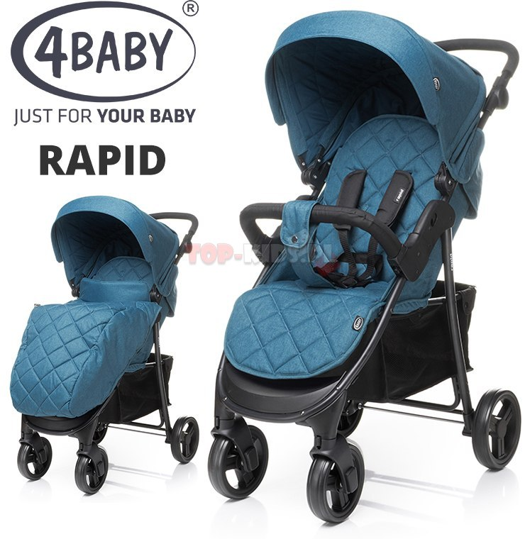 Wózek spacerowy Rapid 2019 4Baby